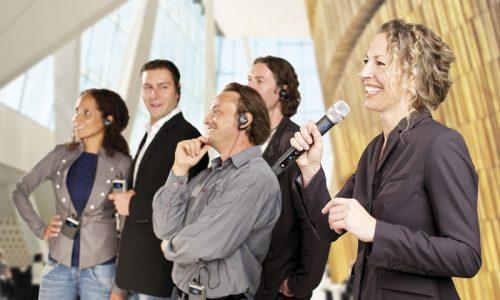 Audio Funksysteme - Werkbesichtigungen